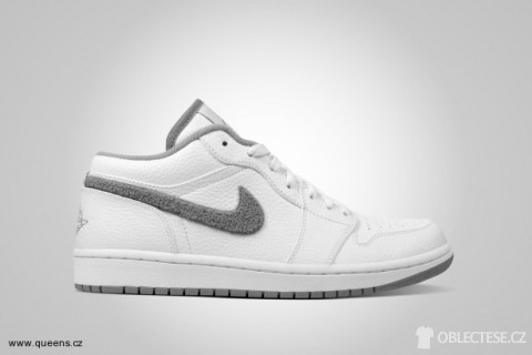 Air Jordan 1 Phat Low white / shadow grey
