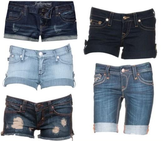 Džínové kraťasy – zaručené módní kombinace (http   www.oblectese.cz aa87db706a