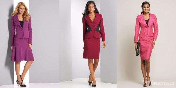 Dámský kostým – je elegantní a najdeme ho v každém dámském šatníku ... 99da1b3977