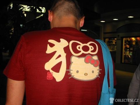 Pánské tričko smotivem Hello Kitty, autor: jetalone