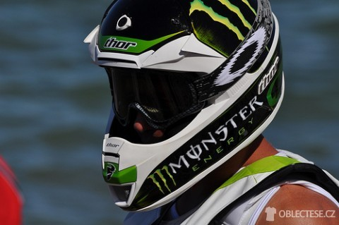 Monster energy přilba, autor: FZ Waverunner