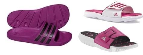 Adidas pantofle a žabky – sezóna přichází