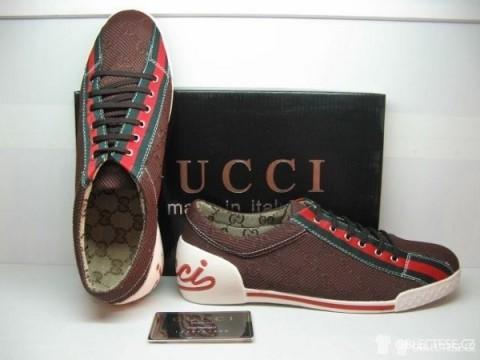 Dámské tenisky Gucci s klasickým logem, autor: Gucci