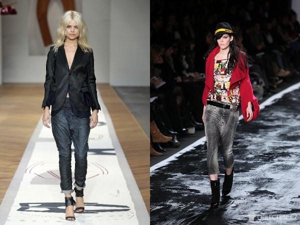 z módního mola … z módního mola. Kalhoty se sníženým sedem ... cd9f92ce54
